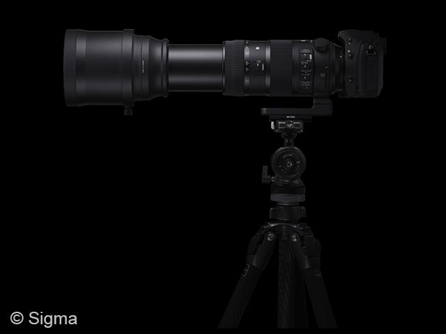Sigma 150-600 mm.