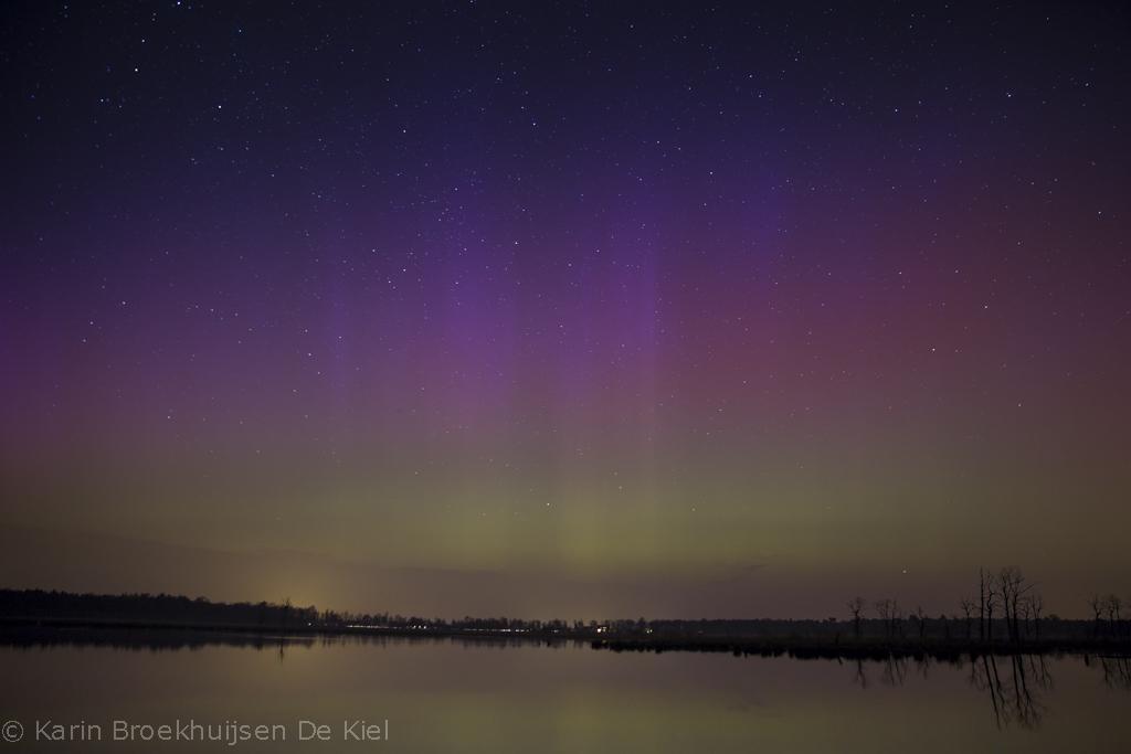 poollicht, aurora borealis