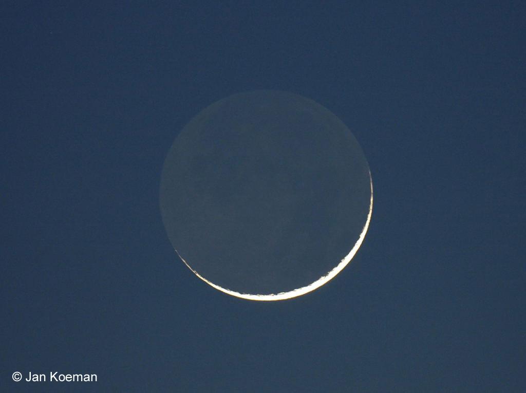 32 uur na nieuwe maan