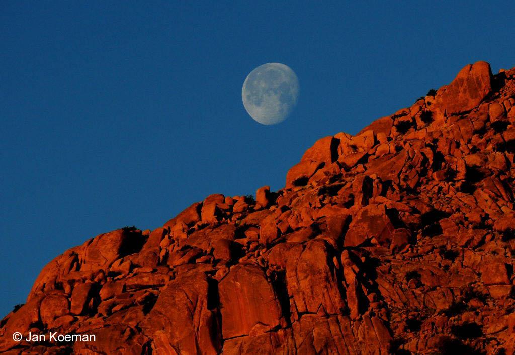 Maan in Marokko