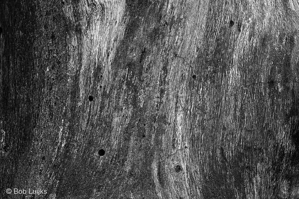 Abstract beeld van de textuur van dood hout.