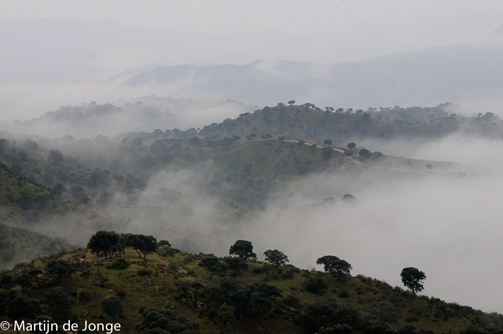 Mysterieuze Sierra de Andújar.