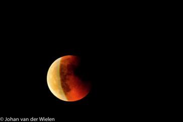 maansverduistering; moon eclips