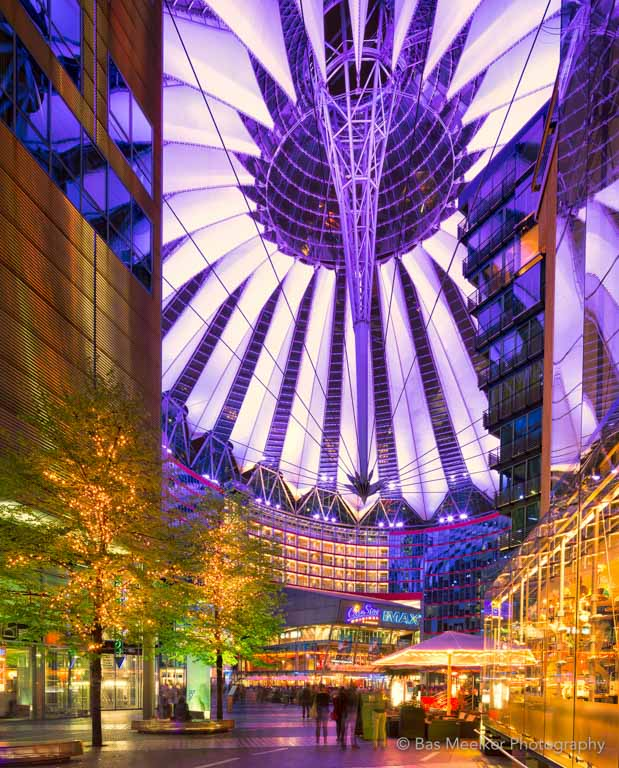 Sony Center - Potsdammer Platz, Berlijn.