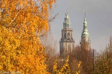 Torens in de herfst