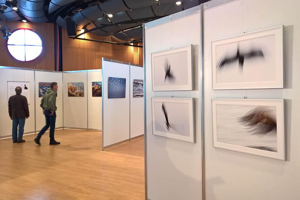 Eén van de exposities op het festival.