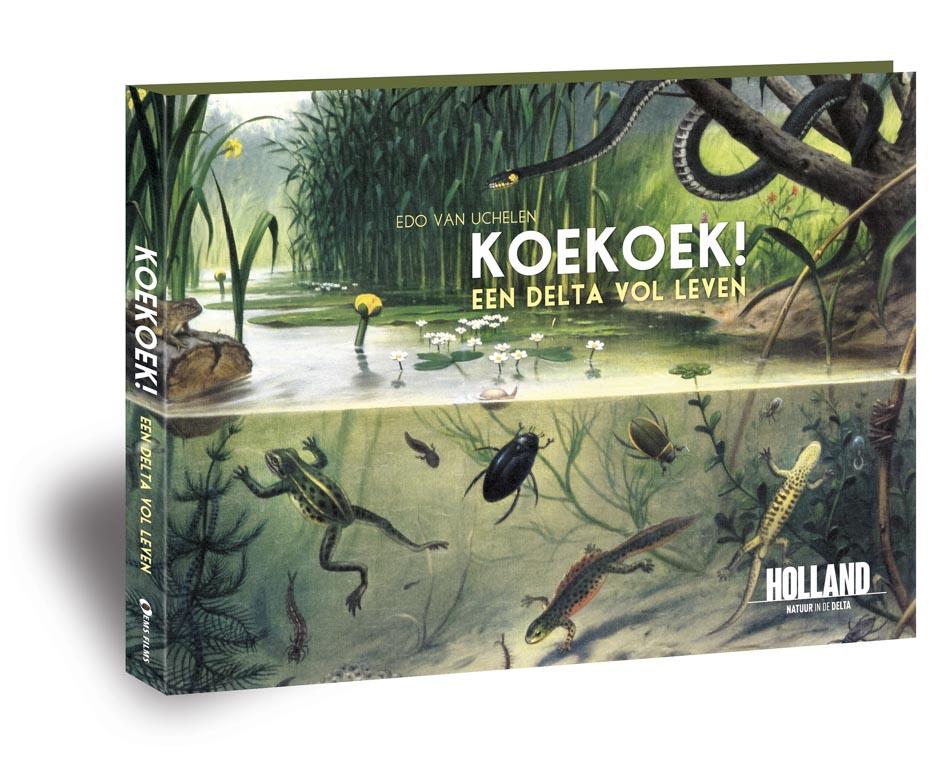 Koekoek, een delta vol leven – natuurboek van Edo van Uchelen