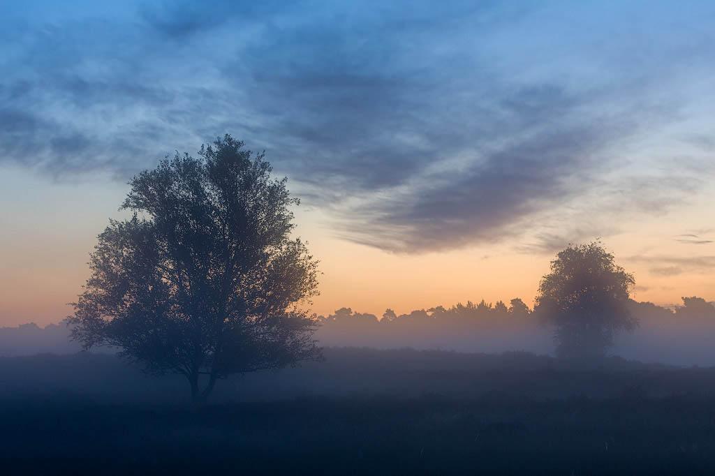 Nog lang geen zonsopkomst, maar nu al futloos. De camera, niet de fotograaf.