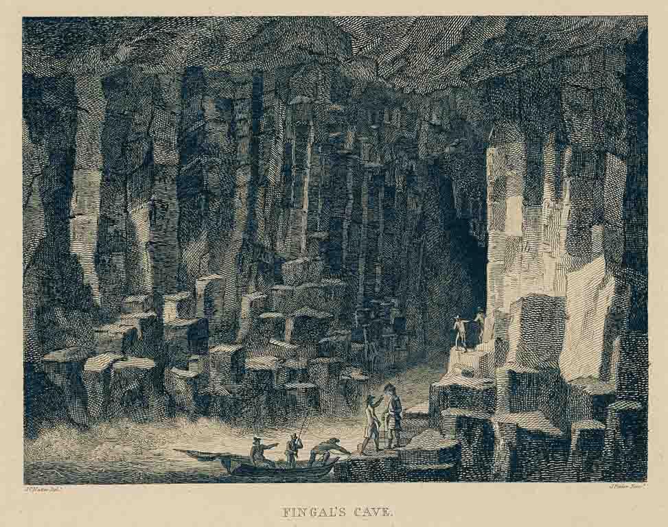 Fingal's cave toen.