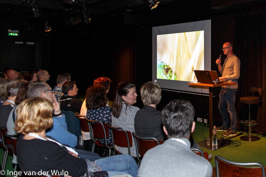 Nico van Kappel nam zijn publiek mee in de dynamiek van het delta gebied.