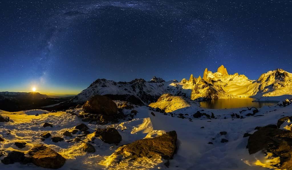 Winnaar categorie 'Mountain landscapes'.