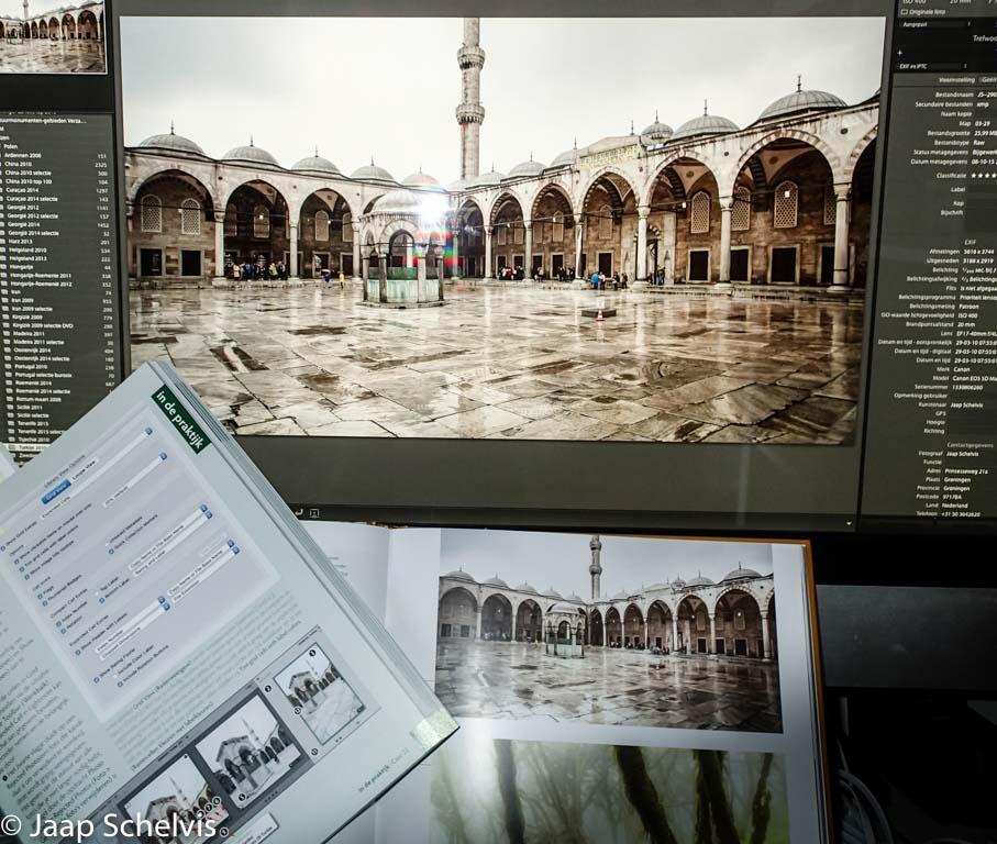 Weinig natuurfotografie in de voorbeelden, maar dat maakt het boek niet minder geschikt voor natuurfotografen.