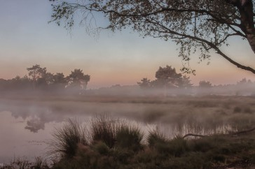 Zonsopgang op de Strabrechtse Heide.