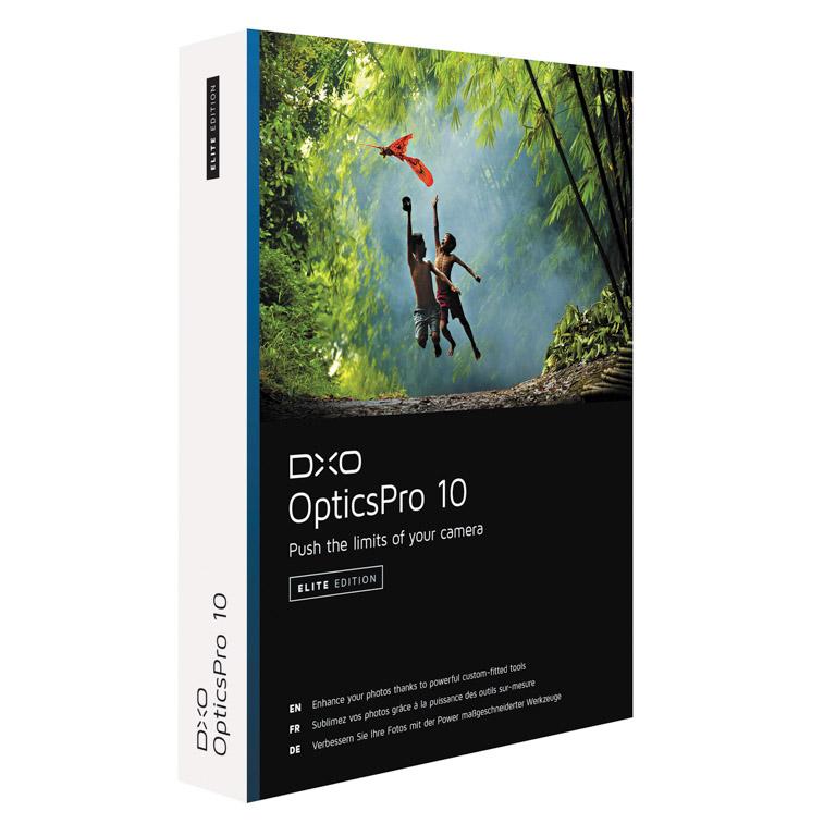 DXO Optics pro 10