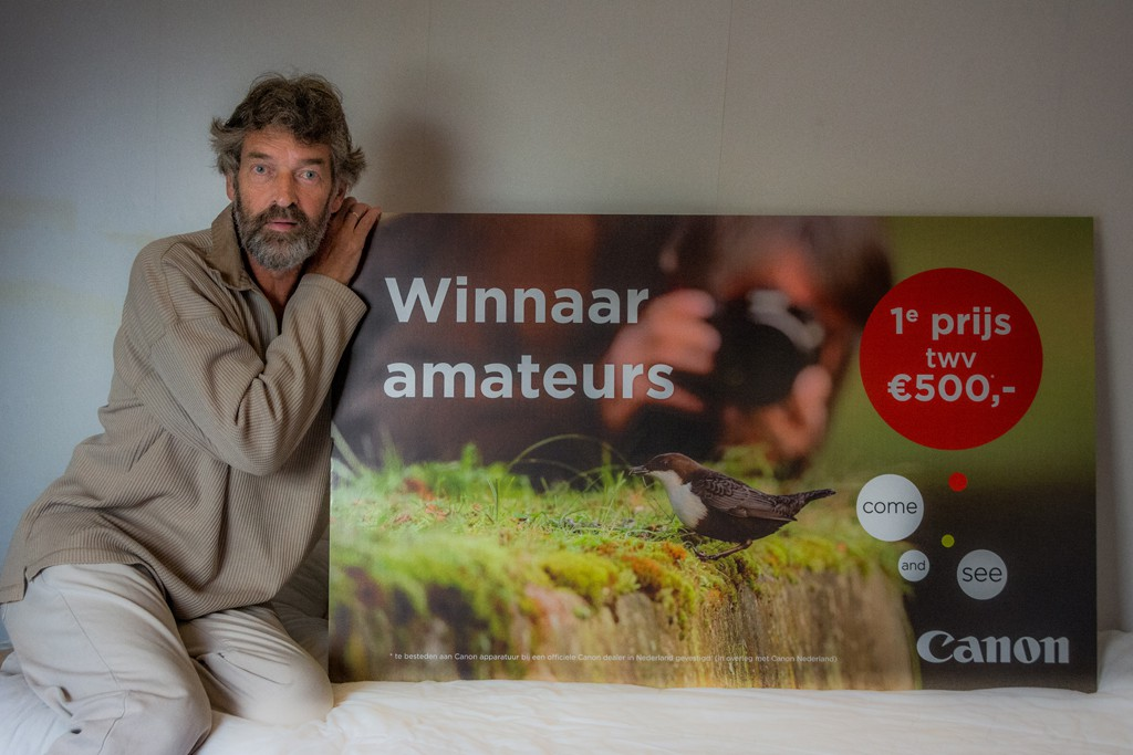 Winnaar 1e prijs amateurs