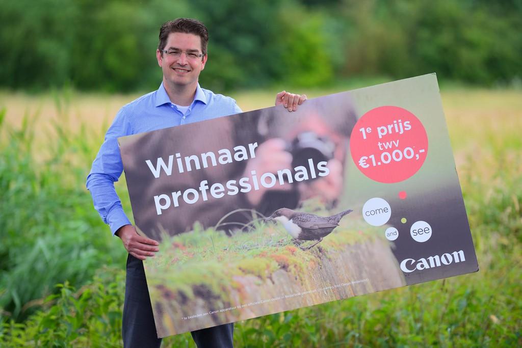 Winnaar 1e prijs professionals