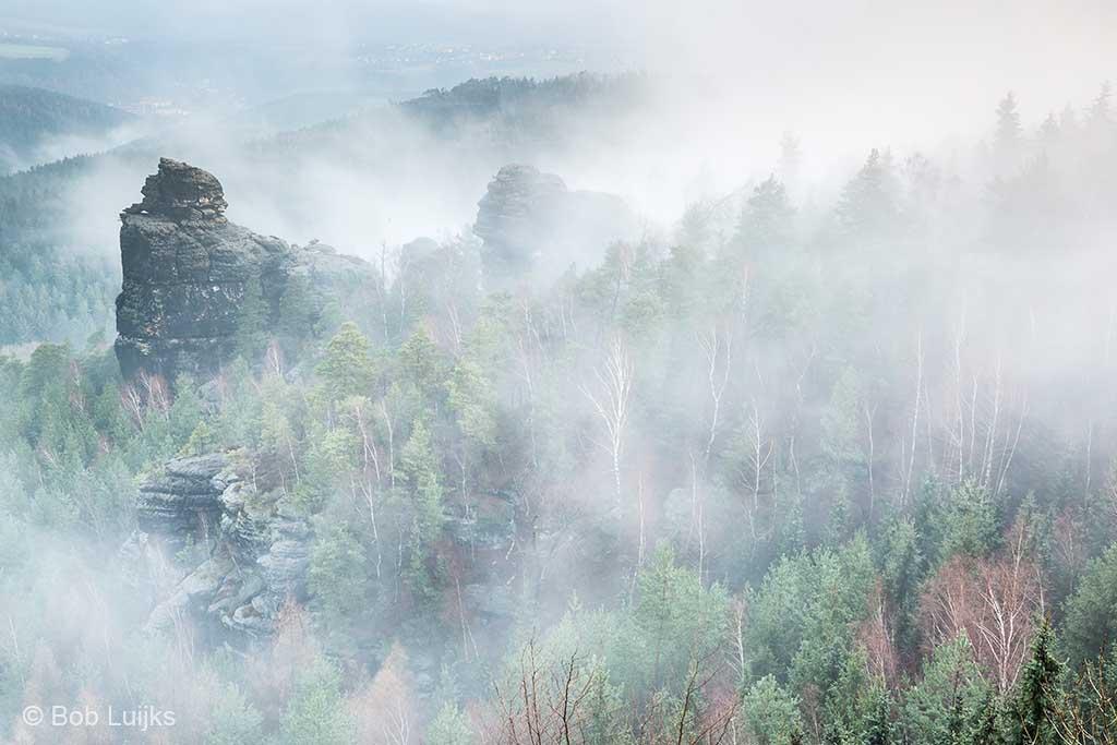 Met een beetje geluk zorgt de Elbe voor mist.