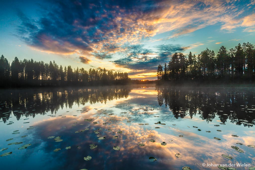 Nieuw thema fotobespreking: ochtend- en avondkleuren