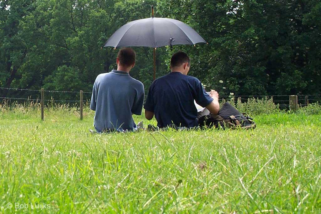Toeval ... studeren in Arnhem