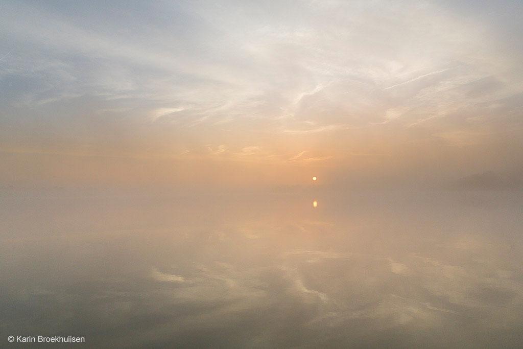 Sprookjesachtig mooie mist