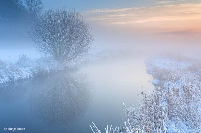 Ijzige mist