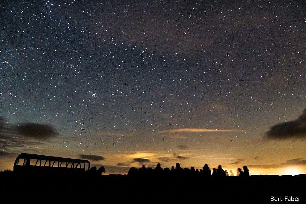 Geweldig schouwspel, zoveel sterren te zien ongelooflijk
