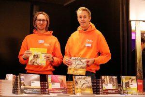 Auteurs en vertegenwoordigers van Natuurfotografie.nl Chris van Rijswijk en Erik Ruiterman