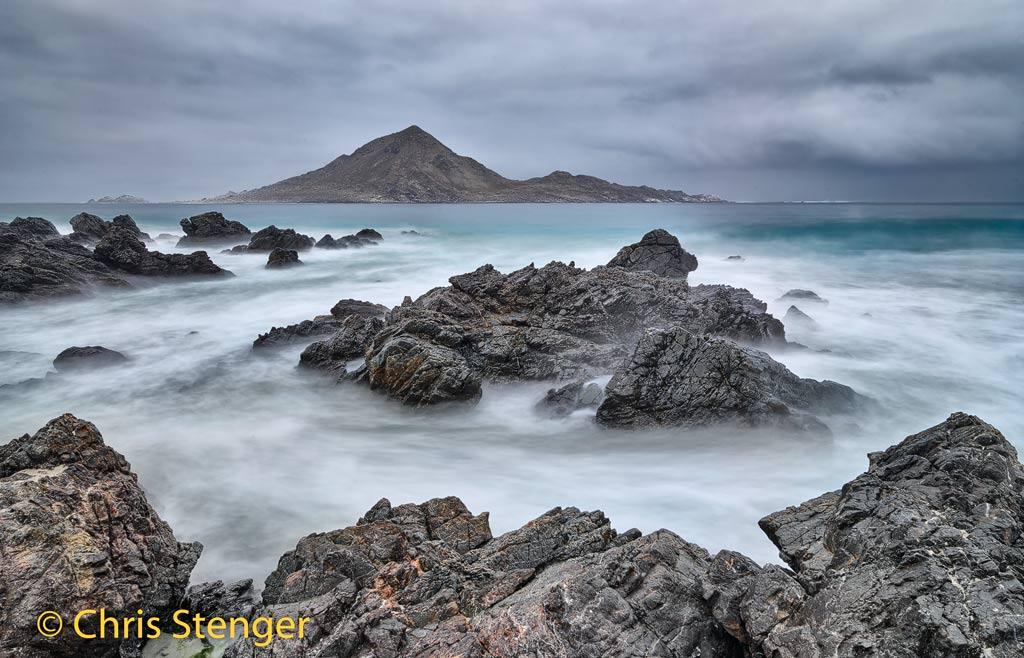 De kust van Noord Chili