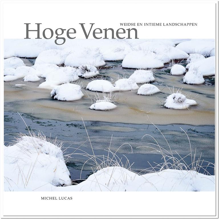 Cover van 'Hoge Venen, weidse en intieme landschappen'.