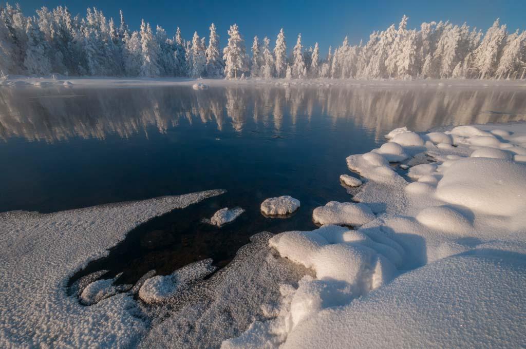 Fins Lapland minus 40 graden.
