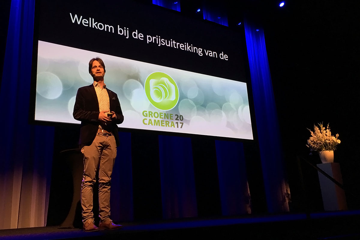 Daan Schoonhoven - prijsuitreiking Groene Camera